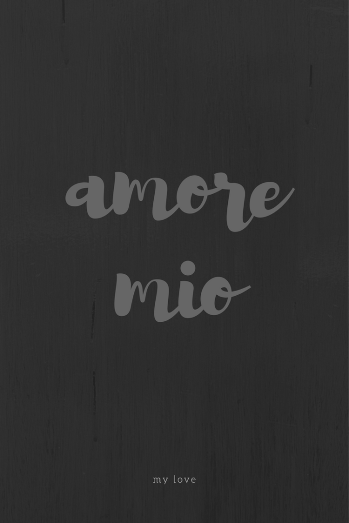 Frasi d'amore, amore mio, by Via Optimae, www.viaoptimae.com